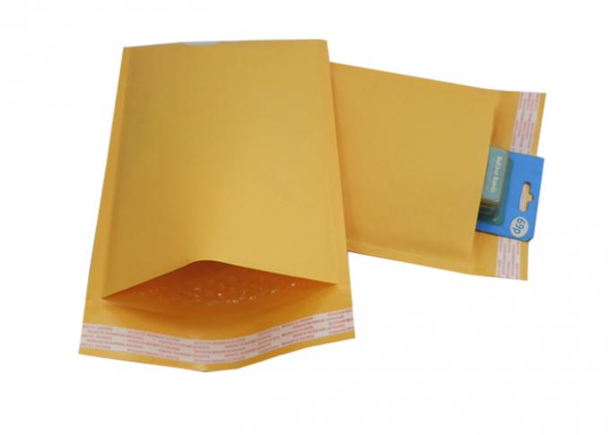 Gold Karft Paper Bubble Padded  Mailers , colored bubble envelopes Self Seal