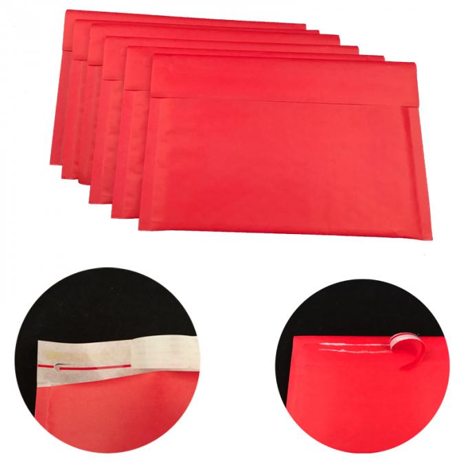 Colored Red Kraft Bubble Mailers Envelopes Shipping Mailing #0