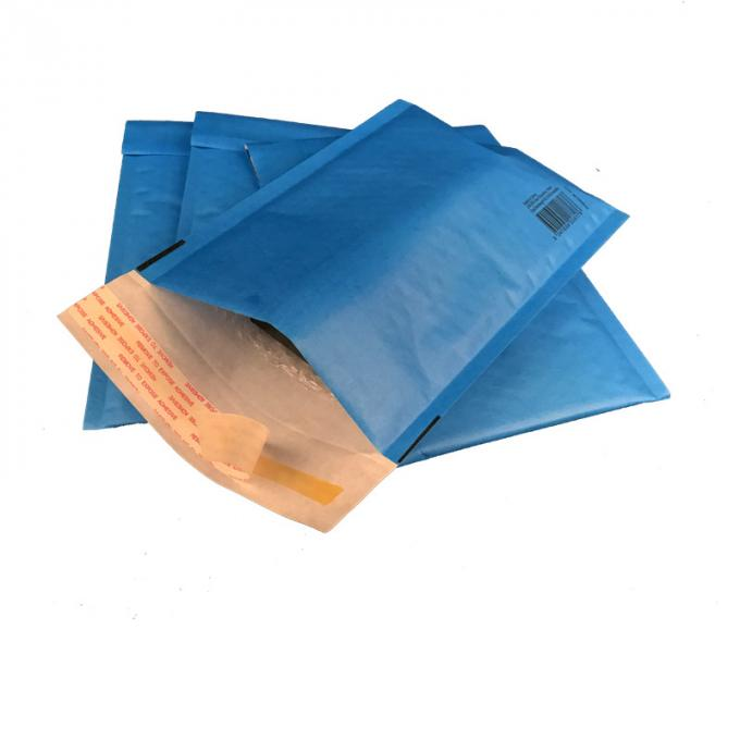 Recyclable Bubble Envelopes Green Kraft , Packaging Padded Mail Bags