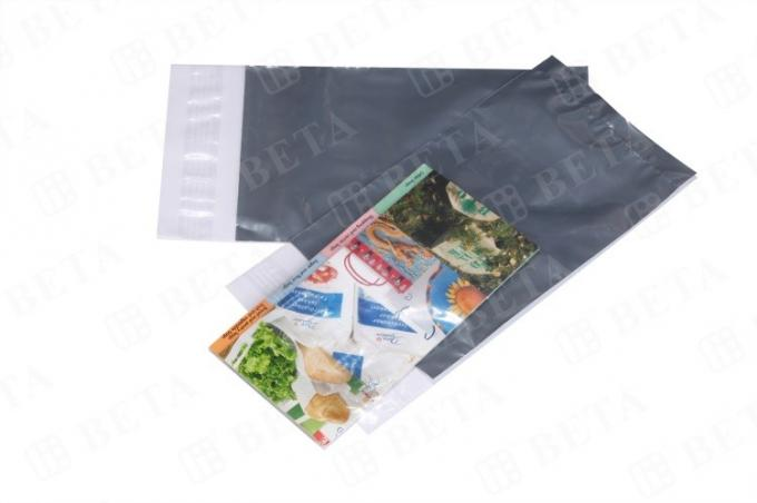 Clear Front Back Opaque Poly Mailers 12 X 18 With Double Perforation Lines