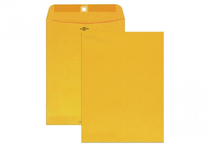 Clasp Envelopes  Great for Filing, Storing or Mailing Documents,Brown Kraft 28lb,