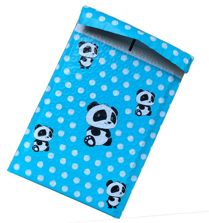 Cute Printing Poly Bubble Mailers CD Jewelry Clothing Garment Packing Mailing Courier Bag