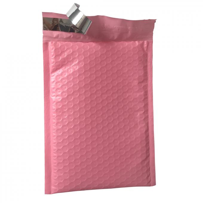 9x12 Hot Pink Self Seal Poly Bubble Mailers Wrap Padded Plastic Courier Bag