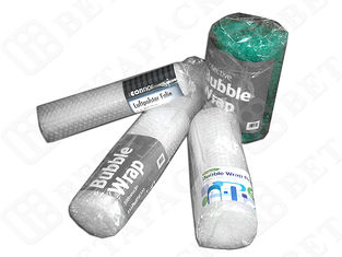 Transparent Bubble Wrap Pouches Large Roll 400mmx4m Size Durable For Packaging