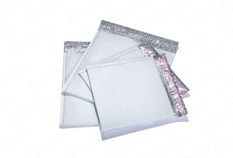 "White Poly Bubble Mailers 10.5"" x 16"" Self Seal Padded Envelopes"