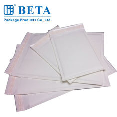 White Elegant Print Business Envelopes , High slip Air Cushioned Mailing Bags