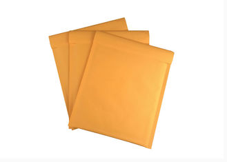 6x10 Golden Kraft Padded Envelopes Mailers , Custom Printed Bubble Mailers
