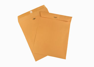 China Golden Kraft Clasp Envelopes 9x12 Metal Clasp Envelope for Documents supplier