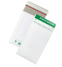 Custom Printing Rigid Cardboard Envelopes Stay Flat Document Mailing Type