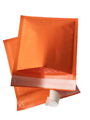 Eco-friendly Colored Kraft Bubble Mailer Envelopes ,Recyclable Self Seal Padded Shipping Bag