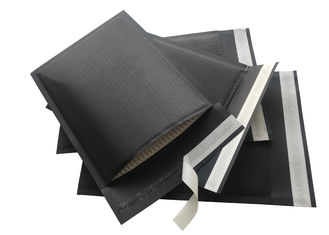 Black Paper Padded Mailing Envelopes , Biodegradable All Paper Padded Envelopes