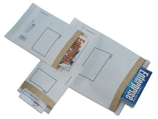 White Kraft Paper Postage Mailing Bags Pre Printed Business Envelopes