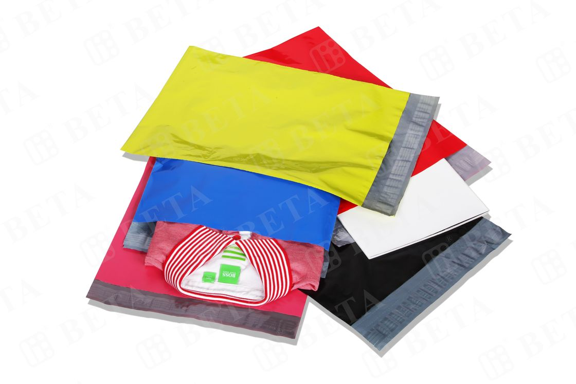 Tear - Proof Custom Colored Poly Mailers 14 x 19 Polyethylene Envelopes