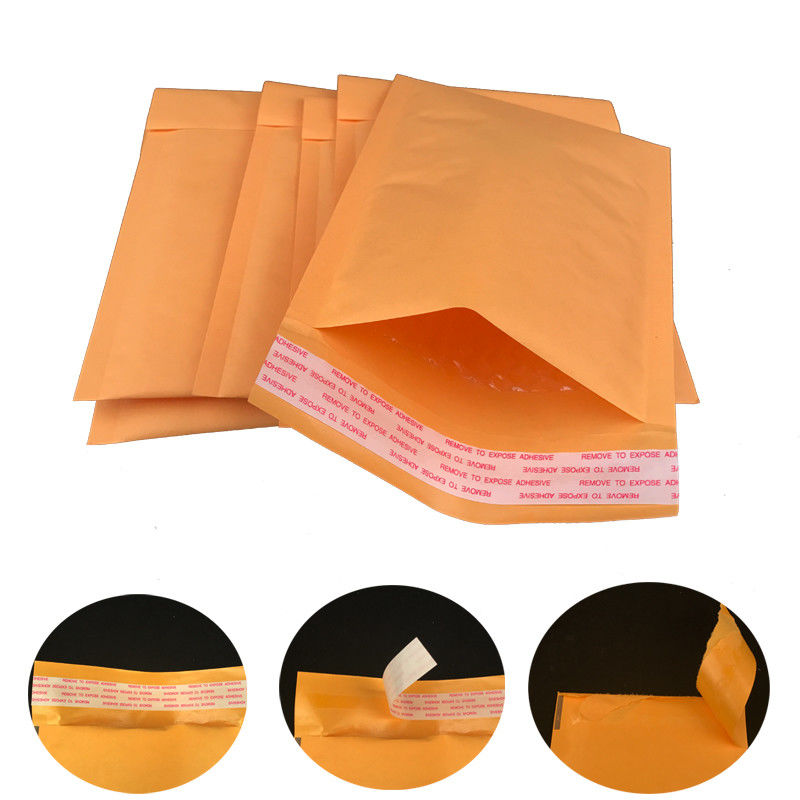 Self Sealing #0 6x10 Gold Kraft Bubble Mailer Shipping Envelopes