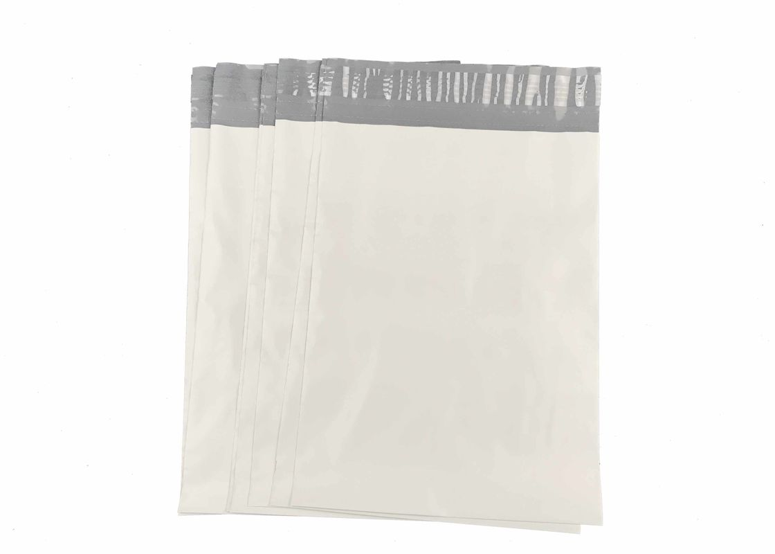10 X 13 Tamper Resistant White Poly Mailer Bags Plastic Courier Bag For T-Shirt
