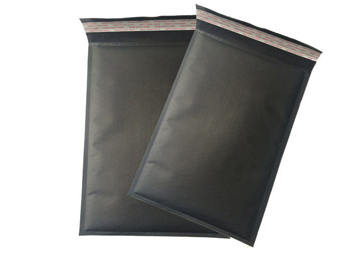 Black Kraft Paper Bubble Wrap Shipping Envelopes Mailing Bags Self Sealing Padded