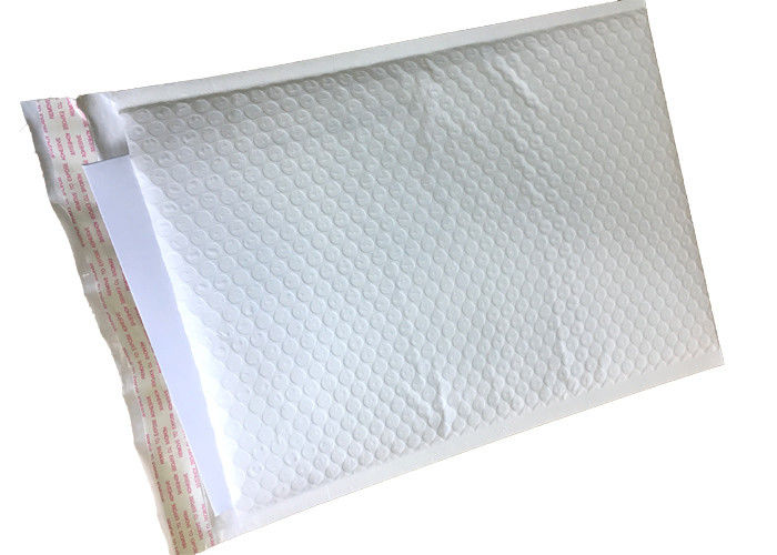 Plastic Clothing Padded Mailing Envelopes , Custom Printed Bubble Mailers Inch 6*10