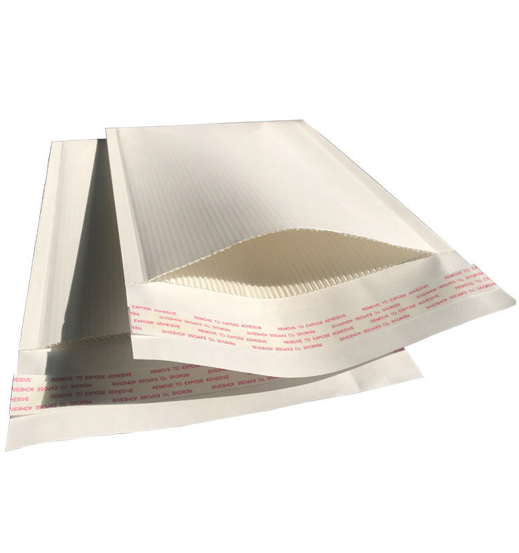 Corrugated Printed Mailing Envelopes Padded Mailer All Paper Same Protection