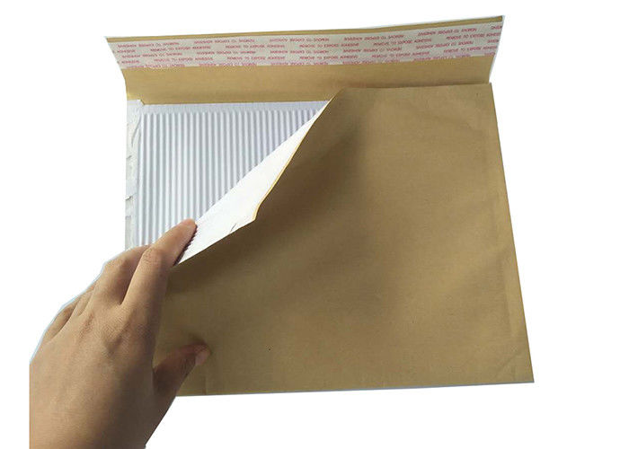 100% Recyclable Brown Kraft Bubble Mailers Padded Envelopes Corrugated Surf Paper Bag