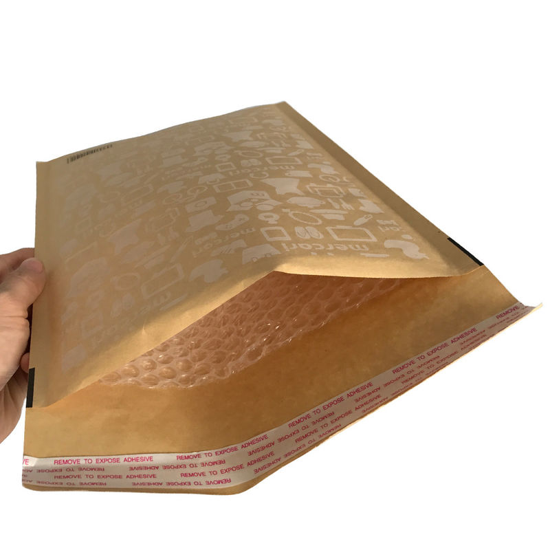 Durable Browm Kraft Bubble Mailers Padded Envelopes Hot Melt Adhesive Glue
