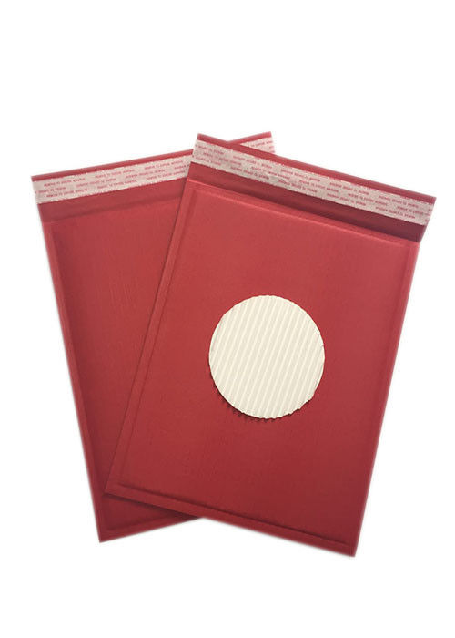 Eco Friendly Padded Mailing Envelopes Corrugated Self Adhesive Closure Custom Colors