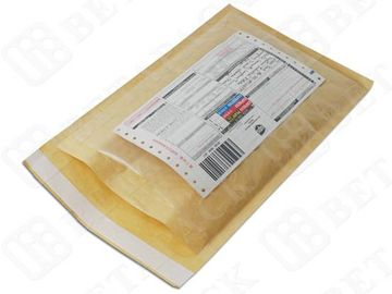 China High Strength Cushioned Poly Kraft Bubble Mailer Colored Bubble Wrap Envelopes factory