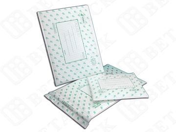 China Fully Laminated Pearl Poly Bubble Mailer Envelope Mailing Pouches 100% Recycle factory