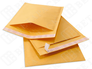 High Slip Kraft Bubble Mailer , Cushioned Postage Mailing Bags 7.25*11