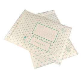 Water Proof Pearl Film Postal Bubble Envelope Kraft Bubble Mailers For Shipping Clothing