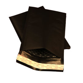 China Eco Friendly Black Kraft Bubble Mailer / Padded envelopes Customized Color factory