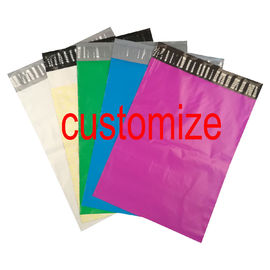 China Custom Logo Print Poly Mailer Colored Courier Express Bags PE Material Self Sealing factory