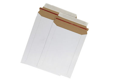 China Photo Mailers Rigid Cardboard Envelopes , Kraft Paper Envelopes Non Bendable Cardboard Mailer factory
