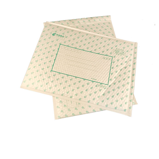 Water Proof Pearl Poly Bubble Mailer , Kraft Bubble Mailers For Shipping Clothing