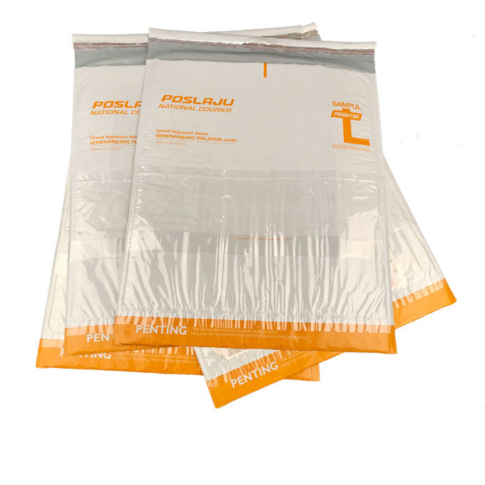Padded Mailing Envelopes Kraft Bubble Mailers With Pouch Logo Printed DHL Ups FedEx Express