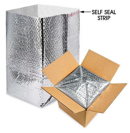 Thermal  INSULATED BOX LINERS for Cool Cold Chain Packaging economical